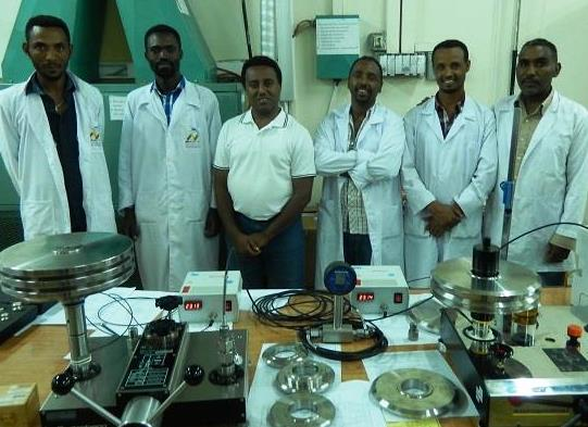 Training NMIE staff to calibrate laboratory instrumentation for EFMHACA